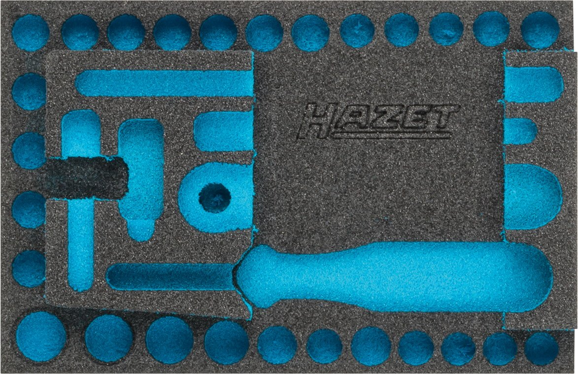 Hazet 2K-Weichschaum-Einlage f/ür Werkstatt 1 St/ück 163-339L