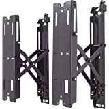 Chief Manufacturing, Pull Hardware, Black Wall Mount Up to 11.54 inch Extention from Wall (FCAV1U)