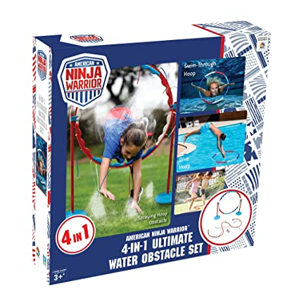 American Ninja Warrior Ultimate Aqua 4 in 1 Obstacle Challenge