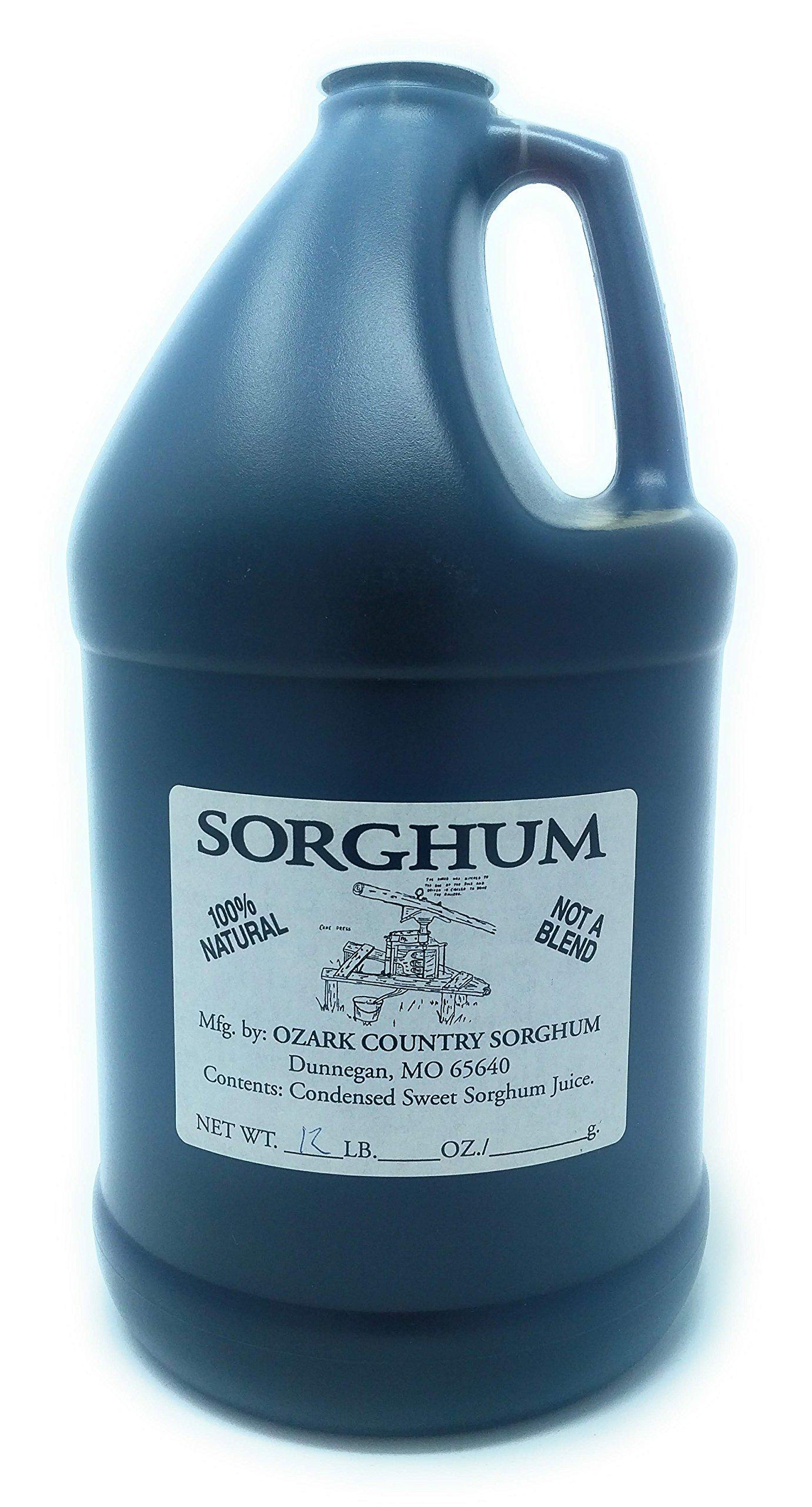 Pure Missouri Ozark Country Sorghum (1 Gallon Jug) 12 lbs.