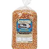 Dutchman's Popcorn - Gourmet Yellow Popcorn Kernels (4lb Refill Bag), Old Fashioned Popping Corn, Non GMO, Gluten Free, Micro
