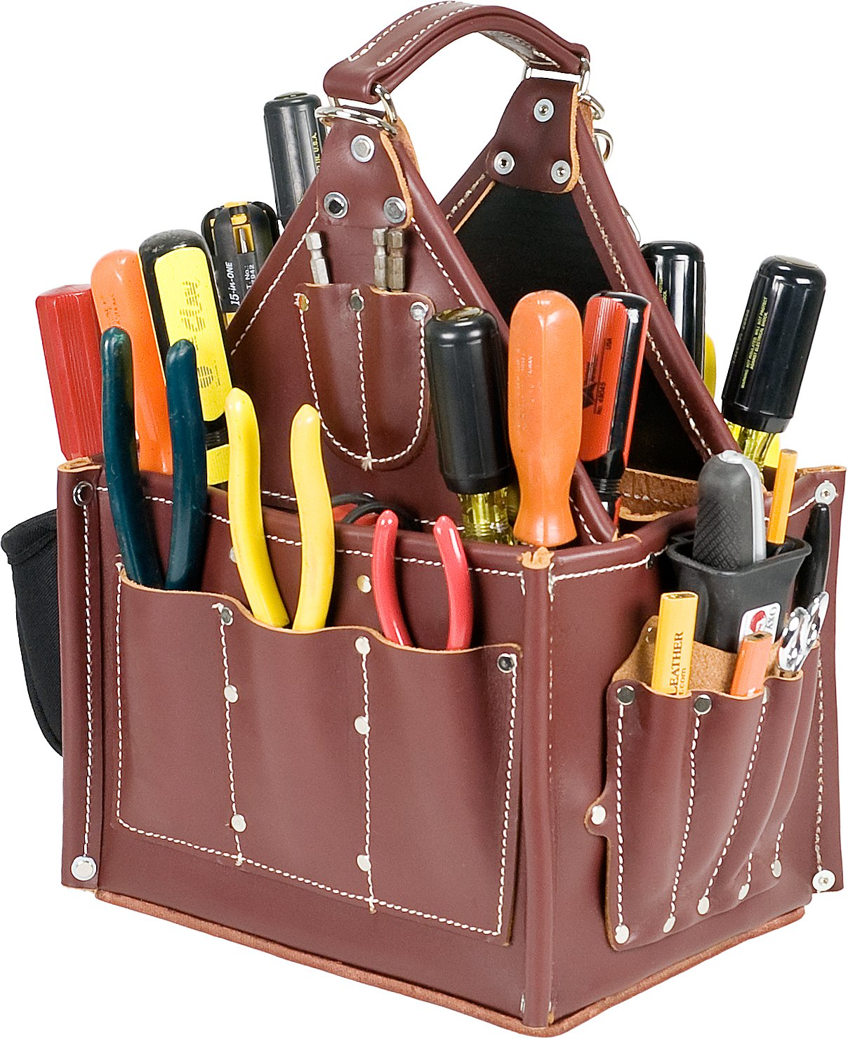 occidental leather stronghold tote tool bags amazoncom