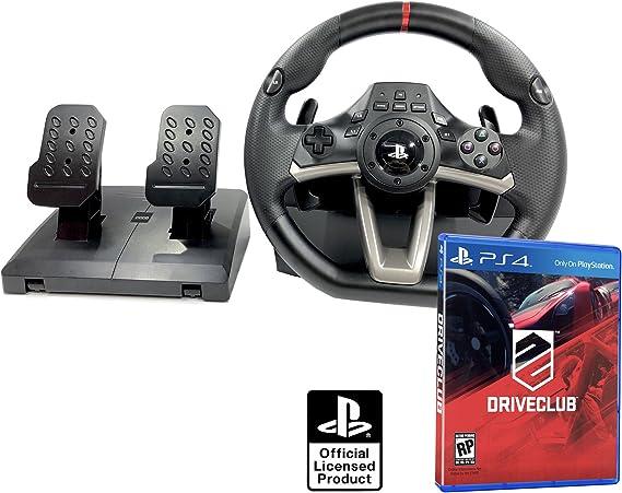 Volante PS4 Licencia Original Playstation 4 RWA Apex + Driveclub ...