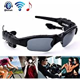 Leaden Wireless Bluetooth MP3 Sunglasses Polarized Lenses Music Sunglasses V4.1 Stereo Handfree Headphone for iPhone Samsung