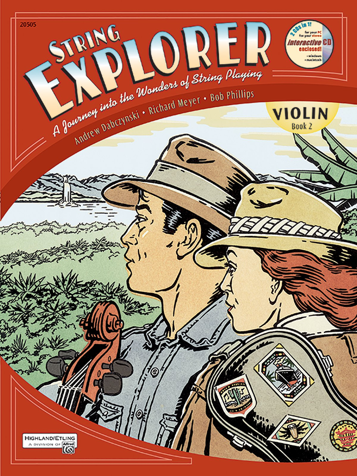 String Explorer, Bk 2: Violin, Book & Interactive CD