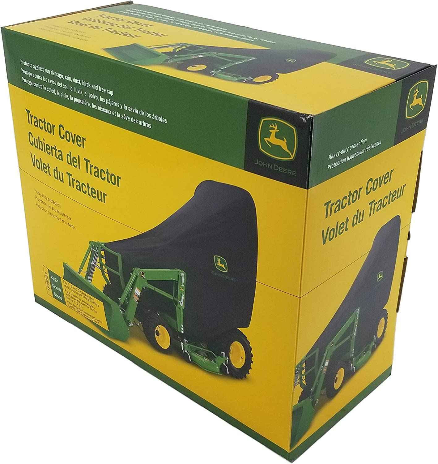 Size JOHN DEERE Compact Utility Tractor Cover Large