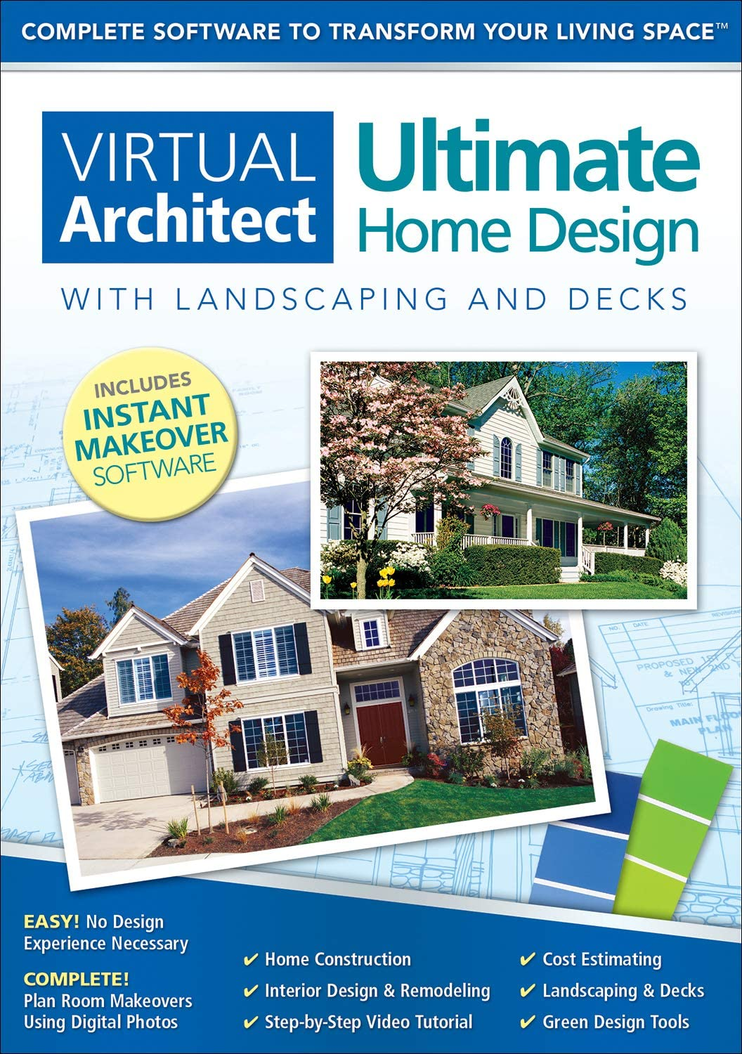 Virtual Architect Ultimate Home Design with Landscaping and Decks 9.0 [Download]