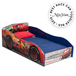 Delta Children Wood Toddler Bed, Disney/Pixar Cars