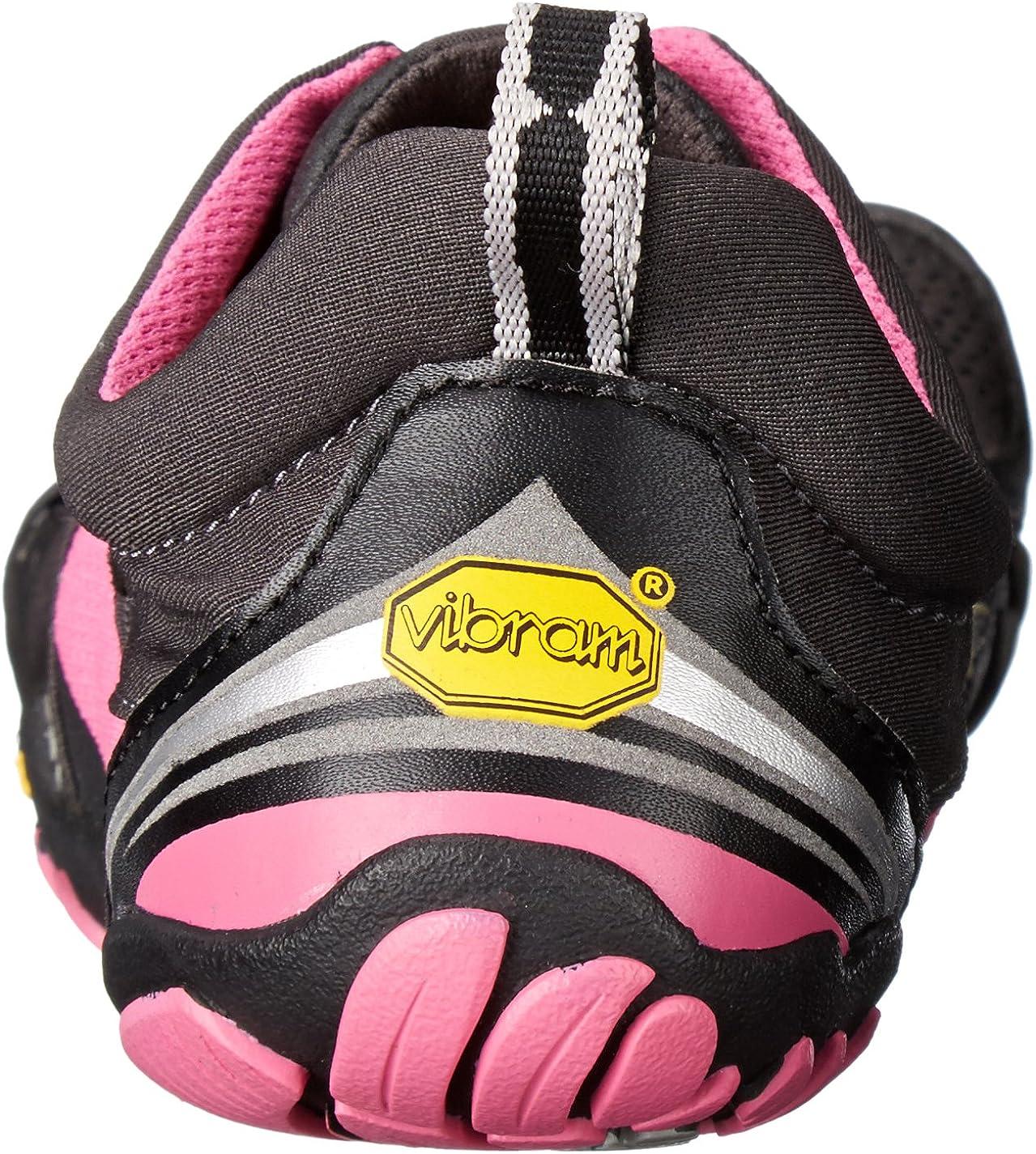 Vibram Five Fingers KMD Sport LS, Scarpe da Arrampicata Donna Nero Black Grey Black Pink