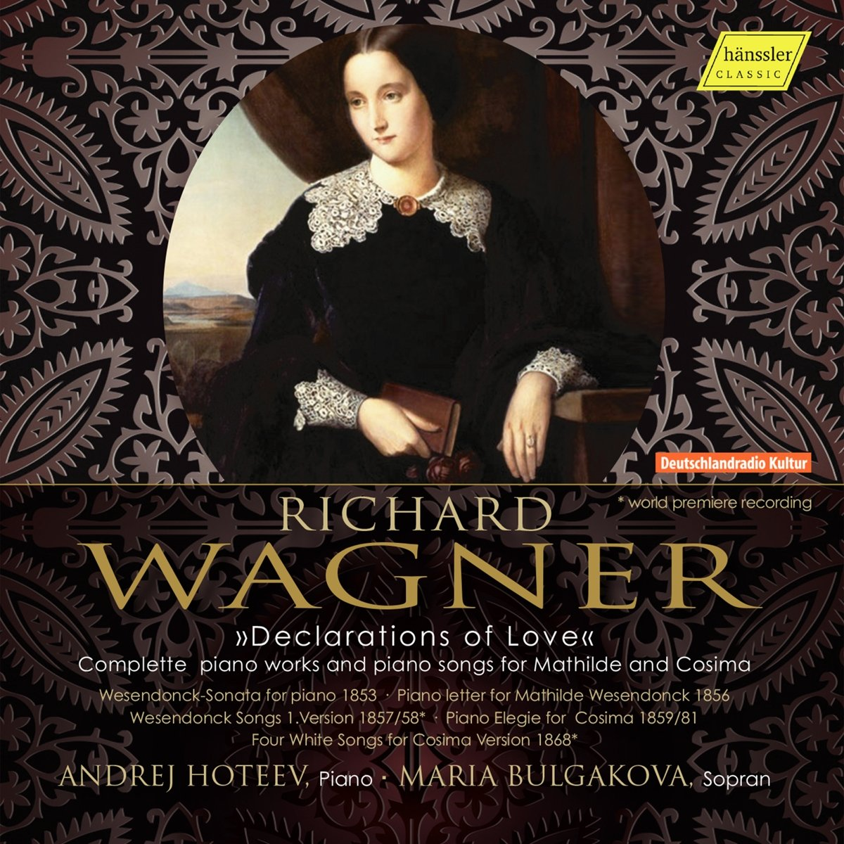 CD : ANDREJ HOTEEV / MARIA BULGAKOV - Declarations Of Love (CD)