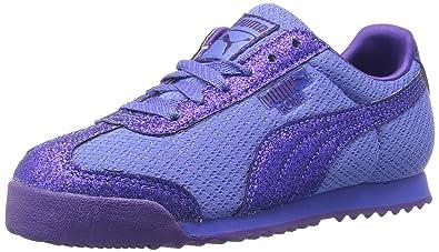 PUMA Girls  Roma Glitz Glamm Mesh Kids Sneaker 2a8827427