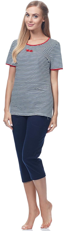 Italian Fashion IF Pijama Camiseta y Pantalones Mujer 72SS3 0225