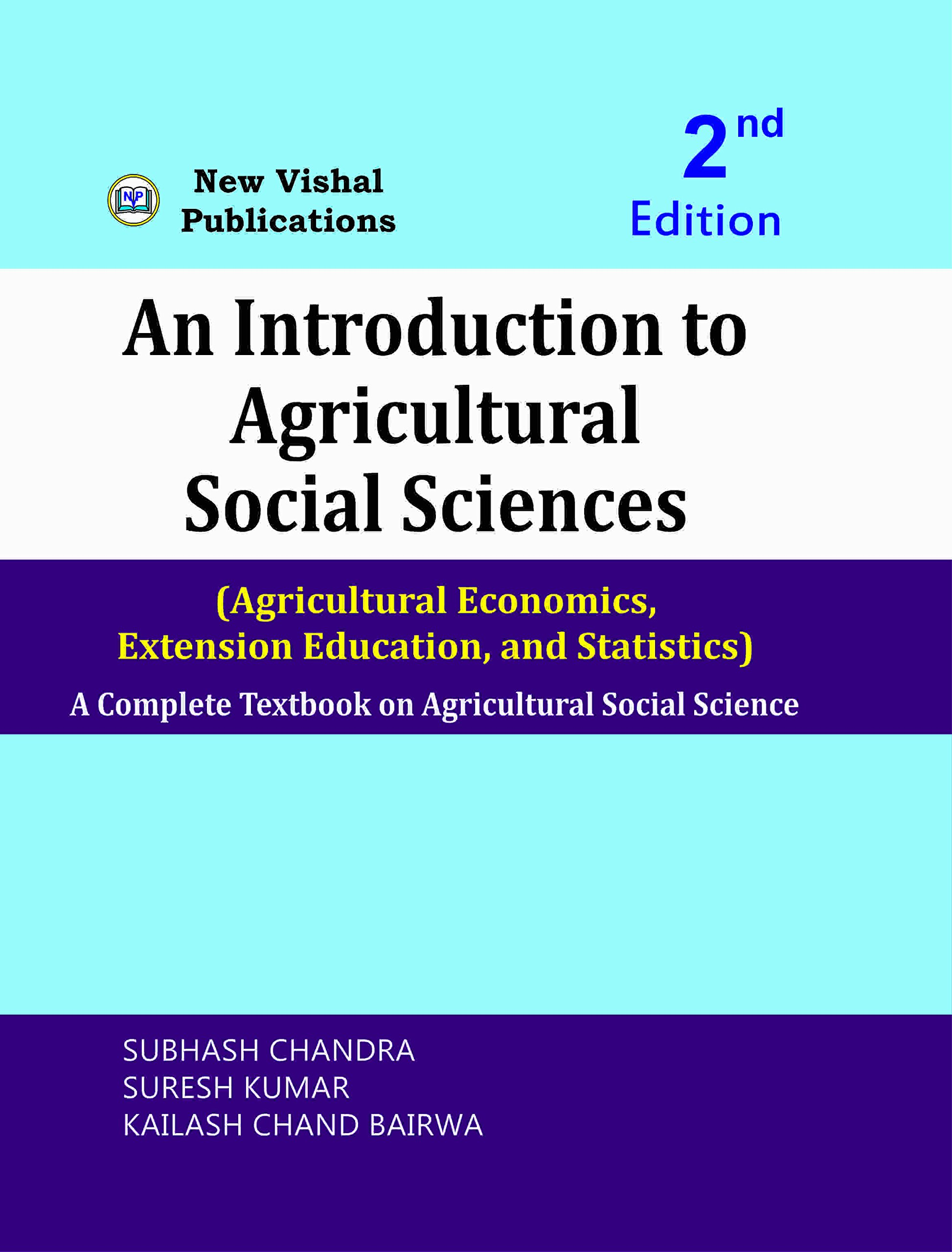 An Introduction to Agricultural Social Sciences