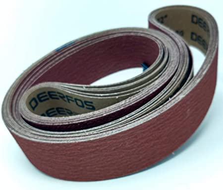 Sanding Belts 2 X 60 Zirconia Cloth Sander Belts 6 Pack 80 Grit