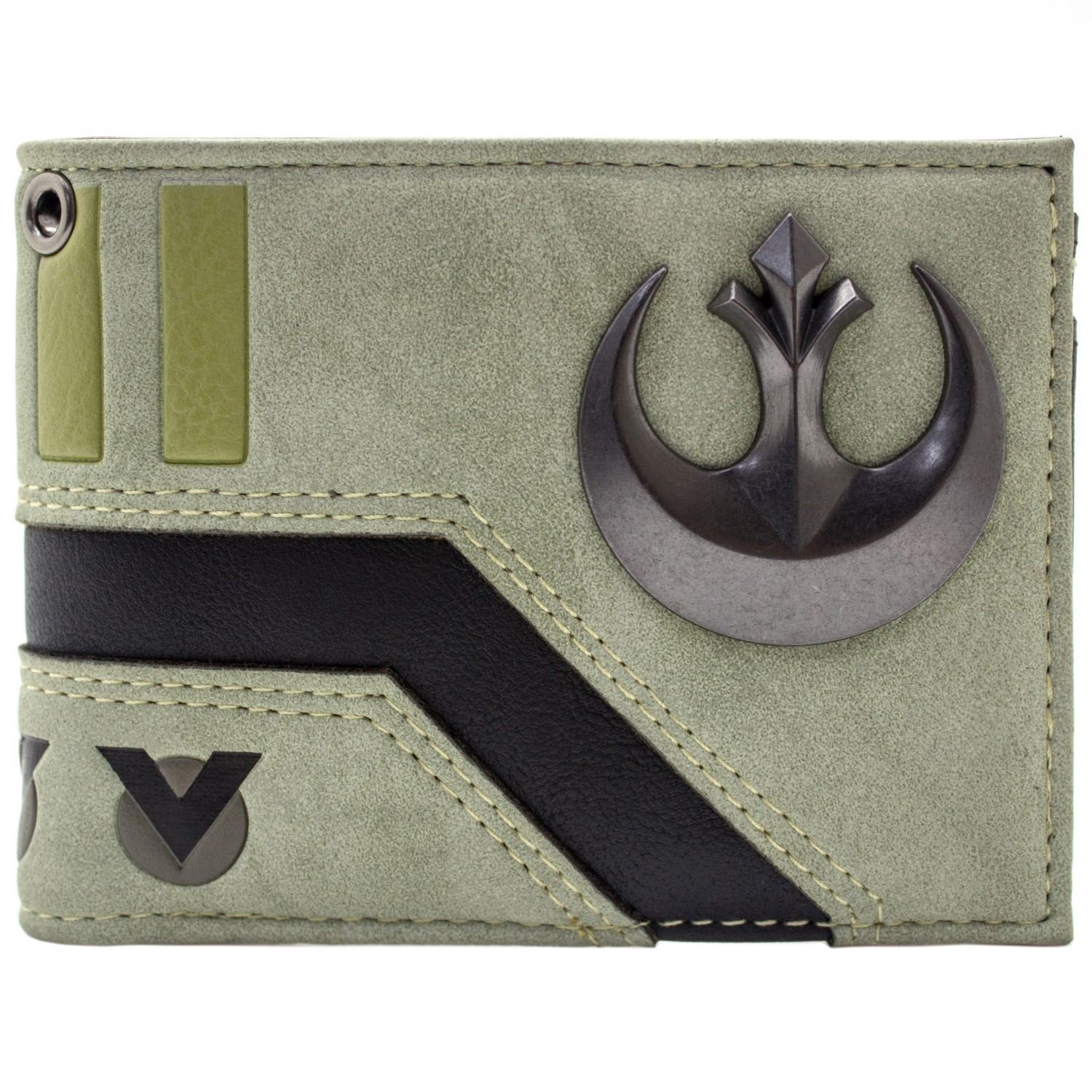 Cartera de Star Wars Rebel Alliance distintivo Gris The Last Jedi 30949