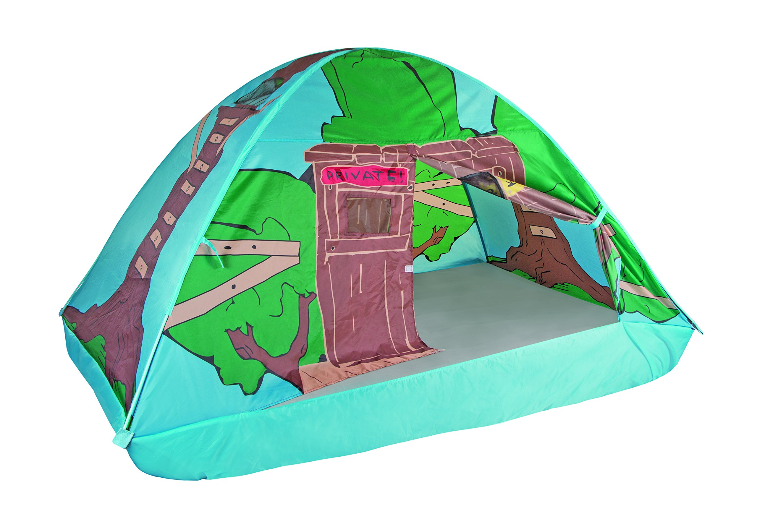 Galleon - Pacific Play Tents Kids Tree House Bed Tent Playhouse - Fits Full Size Mattress  sc 1 st  Galleon & Galleon - Pacific Play Tents Kids Tree House Bed Tent Playhouse ...