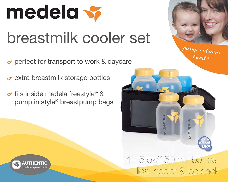 Medela Breastmilk Cooler Set by Medela: Amazon.es: Bebé