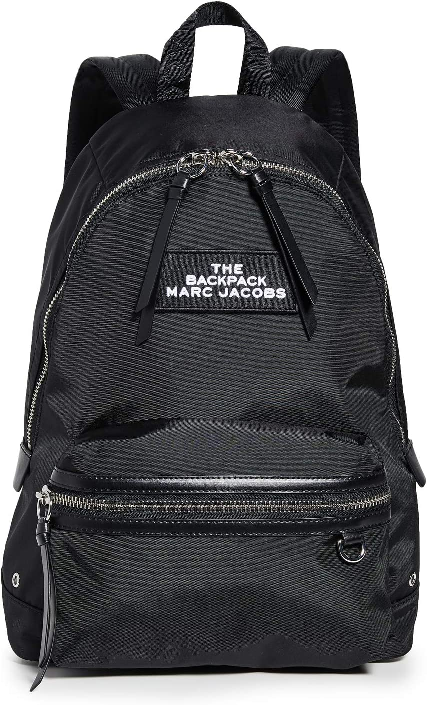 Marc Jacobs Women's The Large Backpack, Black, One Size