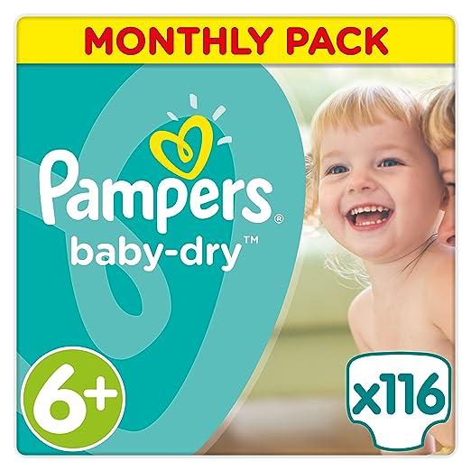 86 opinioni per Pampers Baby-Dry, pannolini, confezione mensile formato risparmio