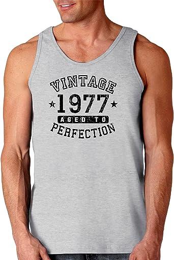 Vintage Birth Year Loose Tank Top Brand TooLoud 1977
