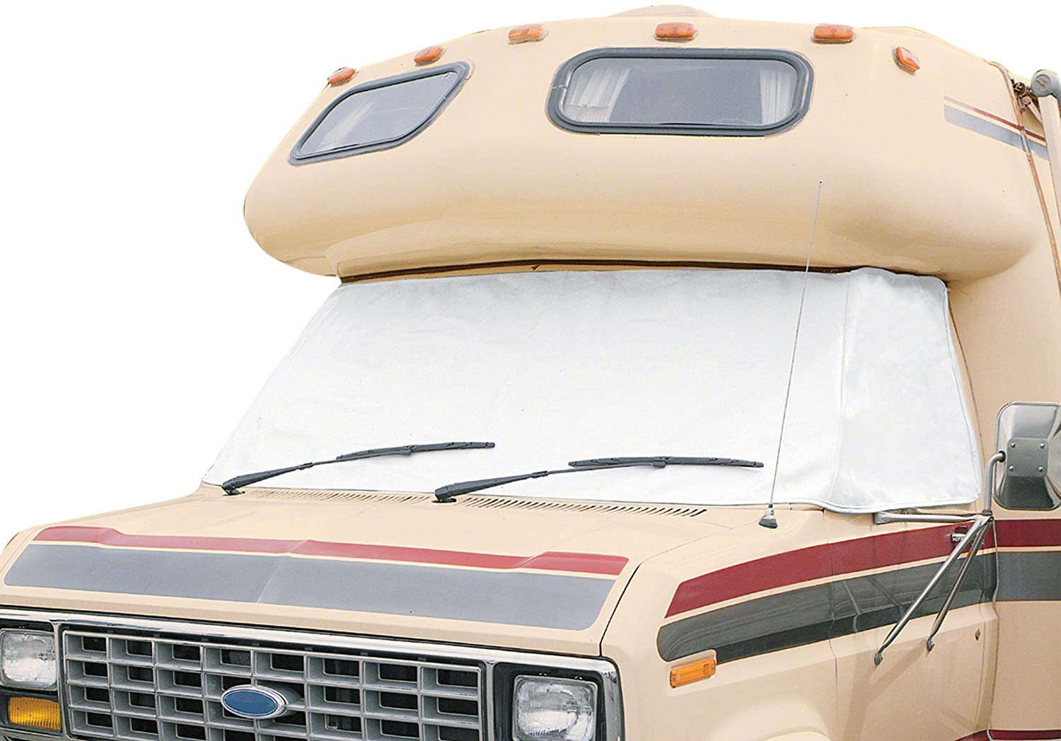 Classic Accessories 78684 Snow White RV Windshield Cover, Fits Ford '92-2003 Fits Ford ' 92-2003