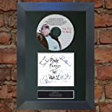 PINK FLOYD [THE WALL] signed autograph framed photo repro A4 print 13 [BLACK FRAME]