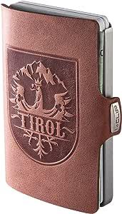 I-CLIP ® Cartera Tirol Roble, Metallic-Grey