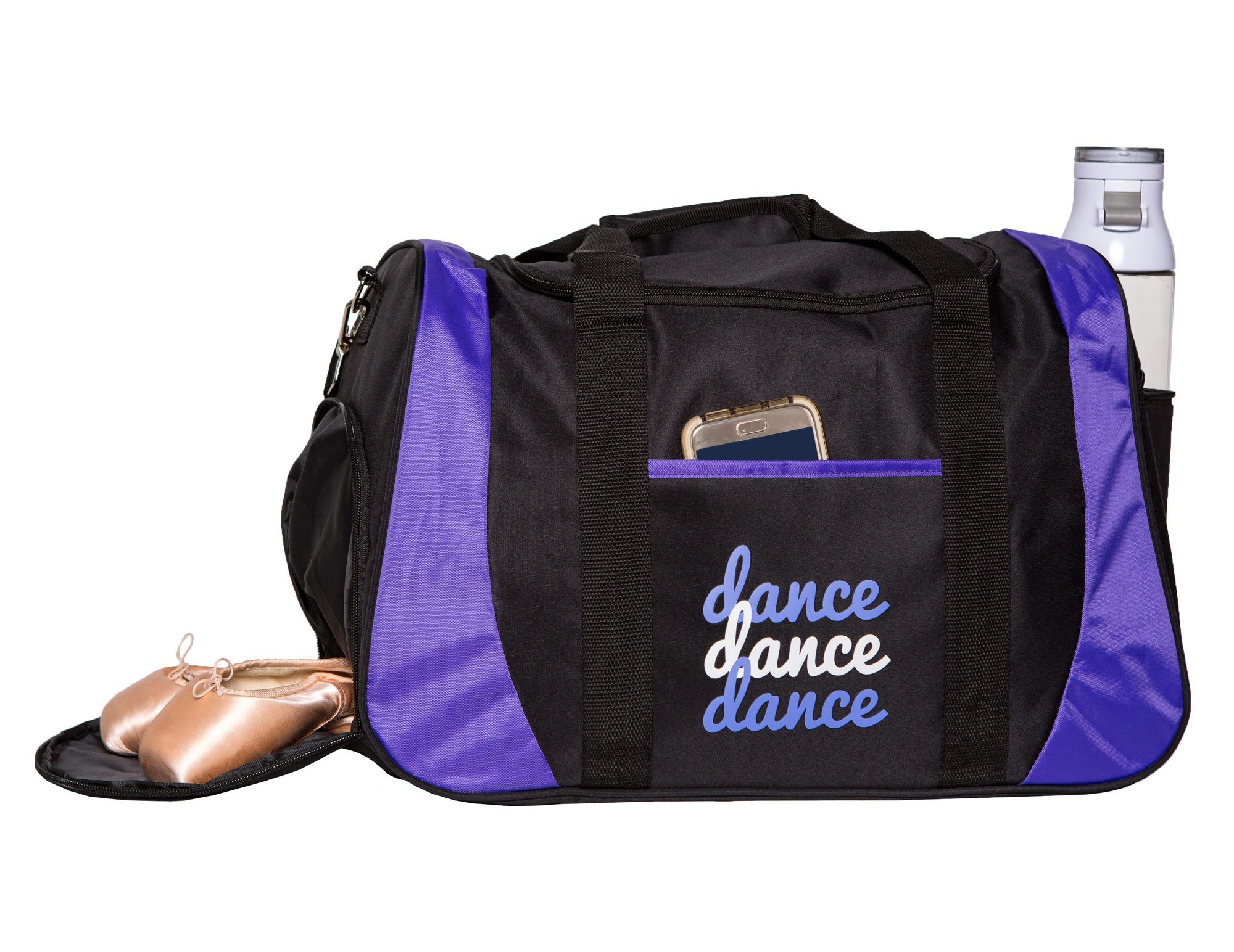 Horizon Dance 8501 Dance III Medium-Large Dance Bag with Shoe Compartment - Purple