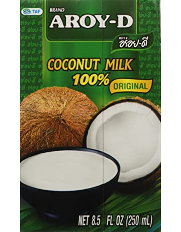100% Coconut Milk 8.5 Oz 3 x 250 ml Aroy-D