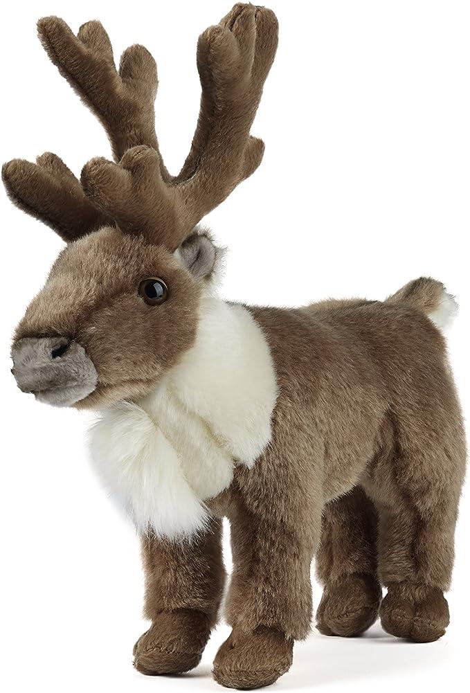 Giant Cuddly Deer Plush Soft Doll Big Reindeer Animal No Sound Nice Toy Handmade