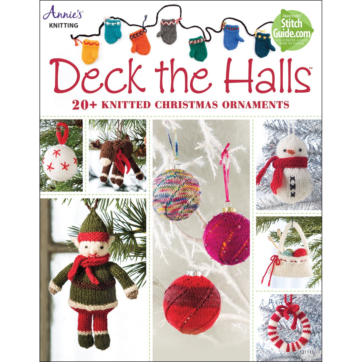 Amazon.com: Deck the Halls: 20 Knitted Christmas Ornament Patterns ...