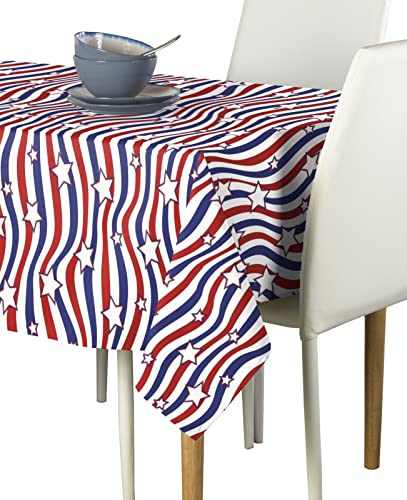 American Stars Stripes Milliken Signature Tablecloth