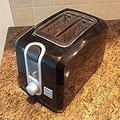 Amazon Com Black Decker 2 Slice Extra Wide Slot Toaster