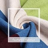 BASADINA Boy's Long-Sleeve Sweater Pullover V-Neck