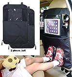 Sedile posteriore Organiser da viaggio con porta tablet, iPod e Kick Mat