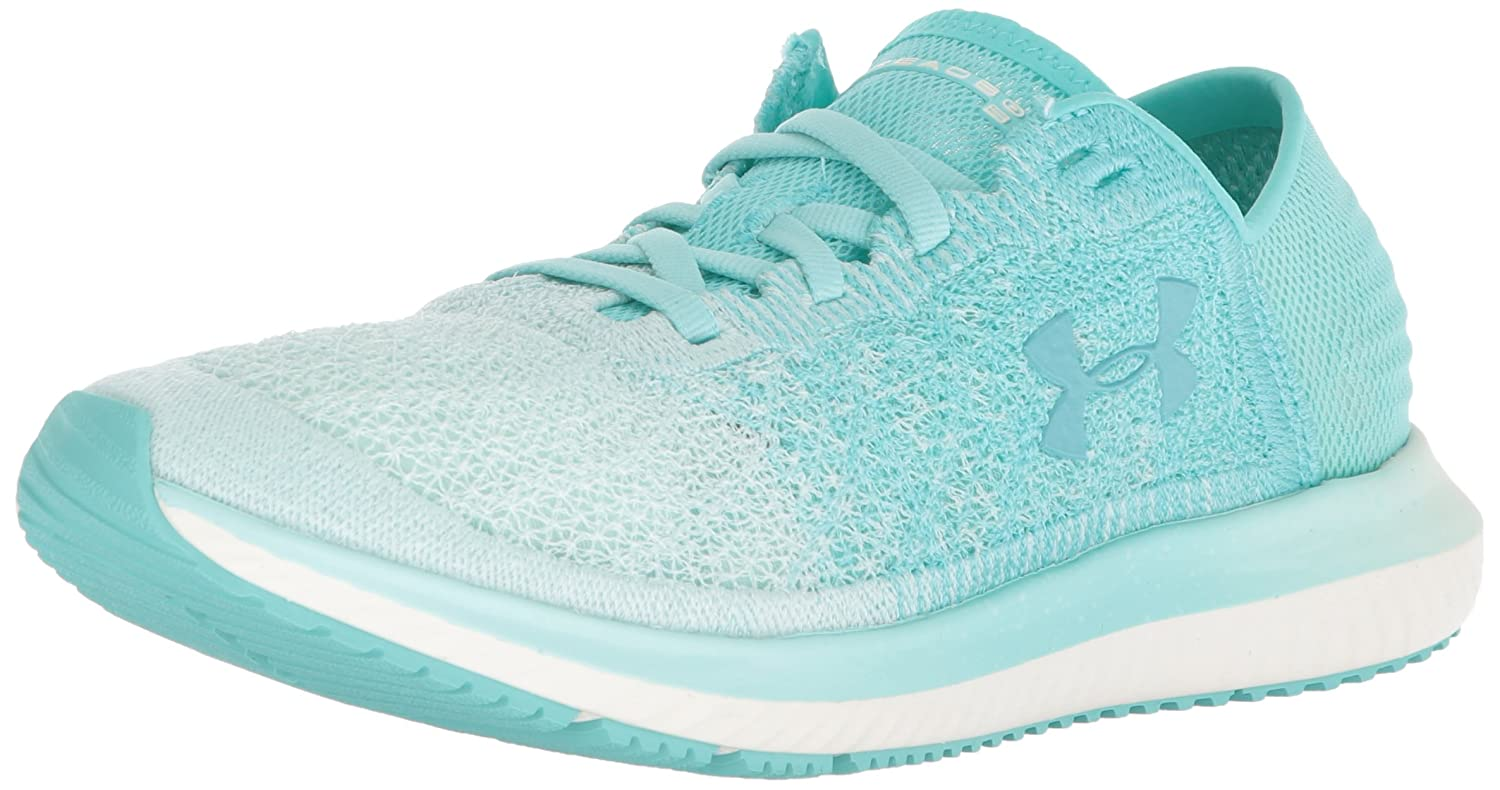 Under Armour Women's Threadborne Blur Running Shoe B0716QS1N1 7 M US|Tropical Tide (300)/Refresh Mint