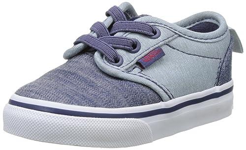 Vans TD Atwood Slip-on, Botines de Senderismo para Bebés, Azul (Chambray), 20 EU: Amazon.es: Zapatos y complementos