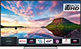 Toshiba 49U5863DB 49-Inch Smart 4K Ultra-HD HDR LED WiFi TV with Freeview Play - Black/Silver (2018 Model), enabled with Amazon Dash Replenishment