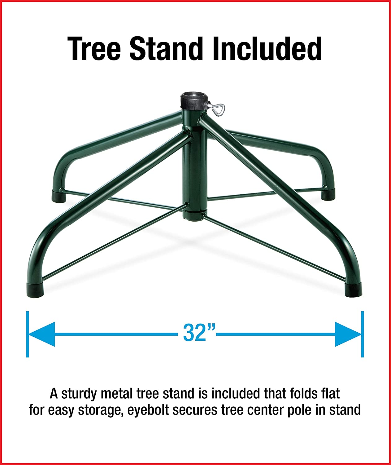 KW7-300-30 National Tree 3 Foot Kingswood Fir Wrapped Pencil Tree ...