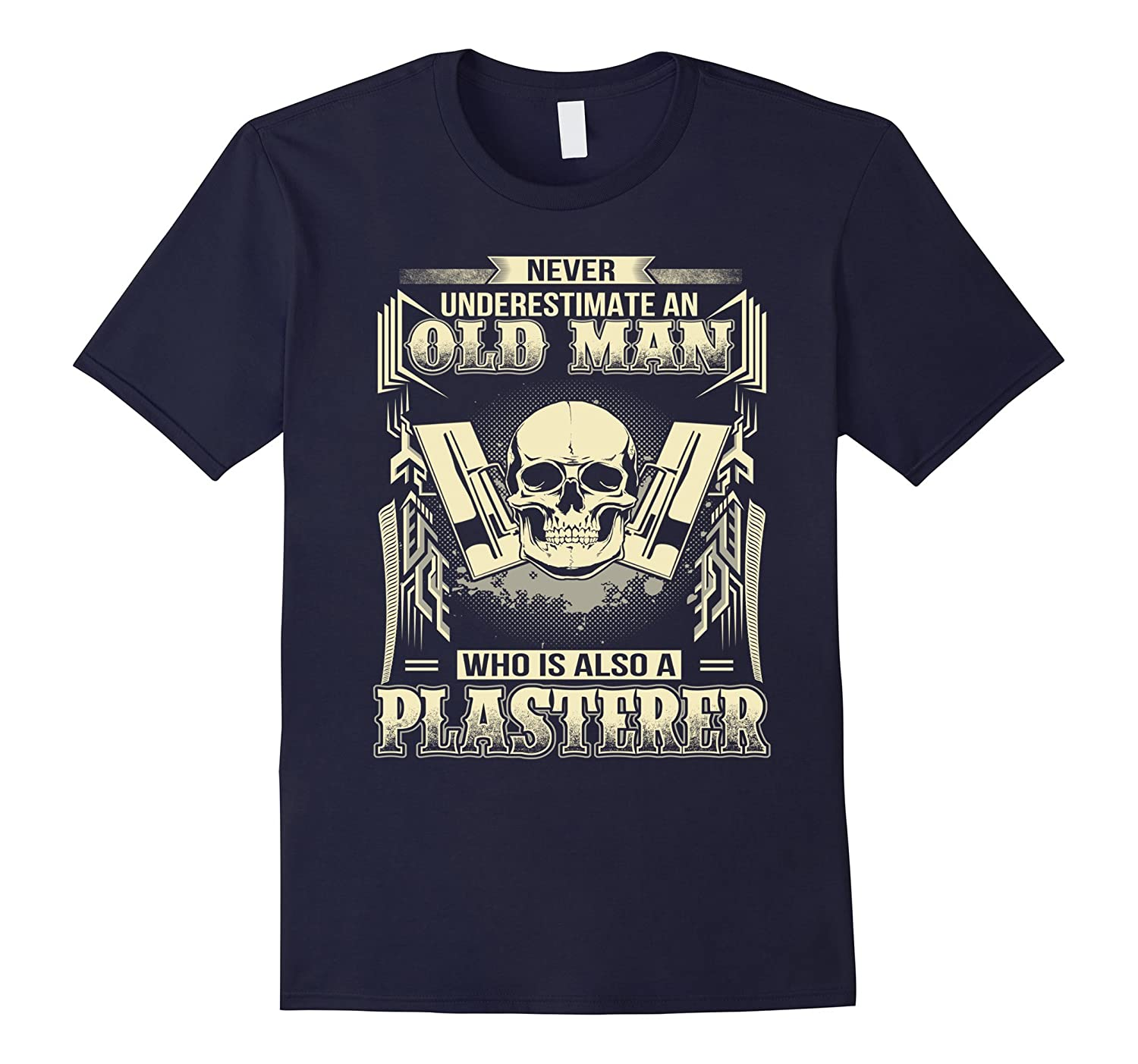 Who Is Also A Plasterer T-Shirt-TD