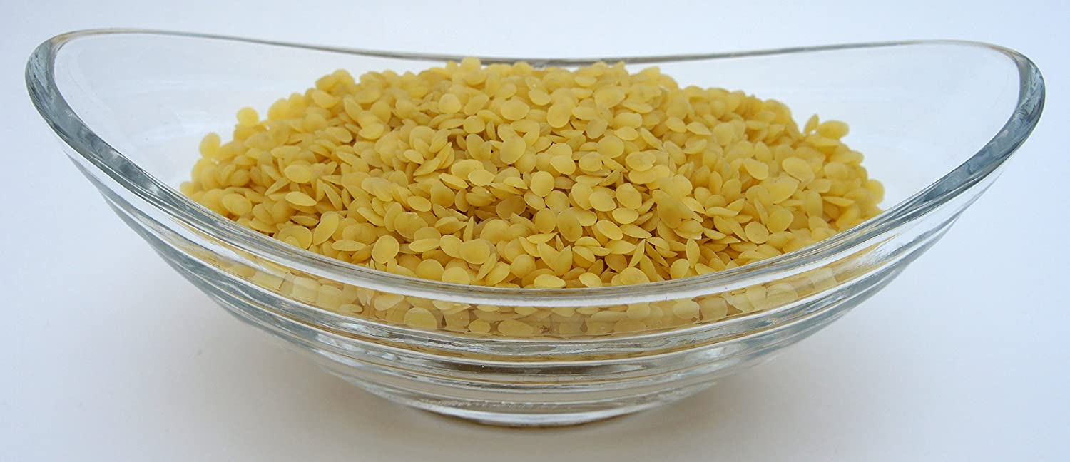 Yellow Beeswax Bees Wax Organic Pastilles Beads Premium Prime Grade A 100/% Pure 5 LB