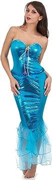 Disfraz sirena mujer - M: Amazon.es: Juguetes y juegos