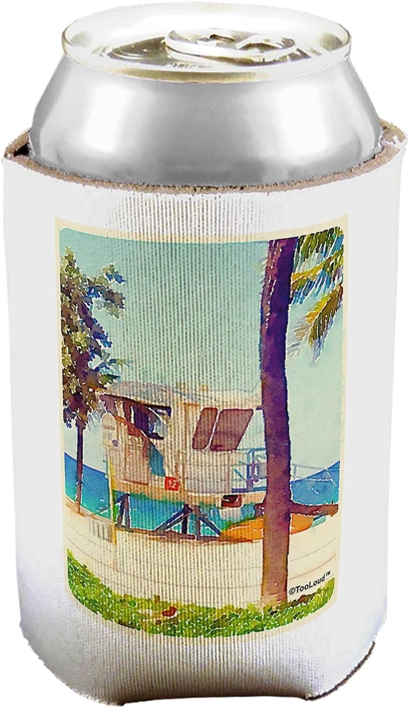 TooLoud Lifeguard estación Watercolor puede/botella aislante refrigeradores 1 Piece