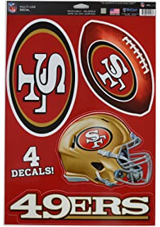 75e0bf598 WinCraft Official National Football League Fan Shop Licensed NFL Shop  Multi-use Decals (San