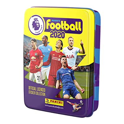 Panini's Football 2020 – The Official Premier League Sticker Collection Pocket Tin: Toys & Games