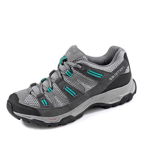 Salomon - Botas de Senderismo de Piel para Mujer: Salomon: Amazon.es: Zapatos y complementos