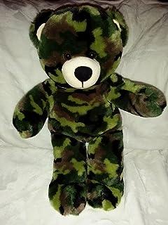a1ee2a25fe2 Amazon.com  Build-a-Bear Workshop Camo Teddy Bear