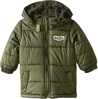 39596e415 Amazon.com  iXtreme - Baby Boys Hooded Mock Camo Vest Winter Jacket ...