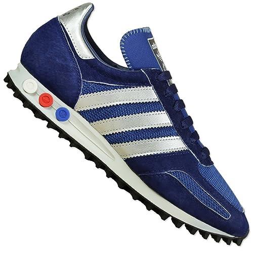 pretty nice 67f69 b309e Adidas LA Trainer OG, dark marine silver metallic dark blue, 5