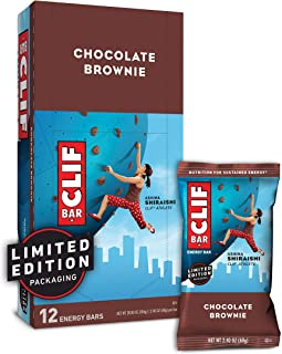 product image for CLIF BAR - Energy Bars - Chocolate Brownie - (2.4 Ounce Protein Bars, 12 Count) Packaging May Vary